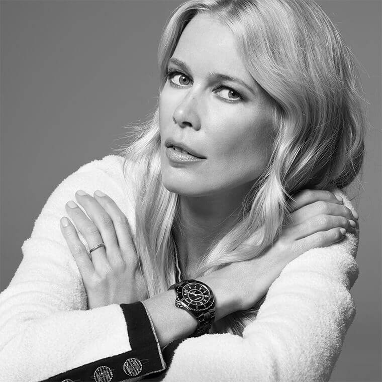 Claudia Schiffer Collaboration with Chanel
